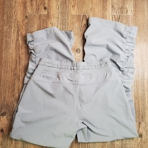 Under Armour Loose Ruched Gray Pants